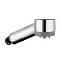 Hansgrohe 97999801 - Talis S Pull Out Spray Head, Stainless Steel Finish